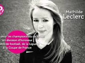 Mathilde Leclerc, arbitre de football et coup de coeur So14 ! 2015